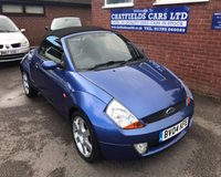 2004 FORD STREET KA 1.6 8V LUXURY 2d 94 BHP £1490.00