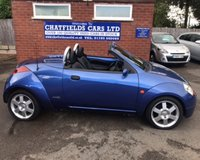 USED 2004 04 FORD STREET KA 1.6 8V LUXURY 2d 94 BHP COUPE CABRIOLET CONVERTIBLE ONLY 45K MILES