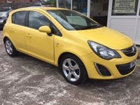 USED 2012 12 VAUXHALL CORSA 1.2 SXI  5dr Hatch - 1 OWNER - LOW MILES!!