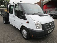 USED 2014 14 FORD TRANSIT 350 LWB Double Cab Steel Tipper 100 PS *ONLY 42000 MILES* EXCELLENT EXAMPLE AND ONLY 42000 MILES