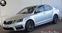 USED 2017 67 SKODA OCTAVIA 2.0TSi VRS 5 DOOR 6-SPEED 227 BHP (FACELIFT MODEL) Finance? No deposit required and decision in minutes.