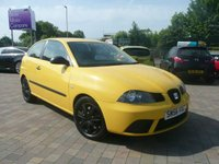 2006 SEAT IBIZA 1.2 CHILL SPECIAL EDITION 12V 3d 69 BHP £1499.00