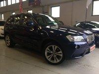 USED 2012 12 BMW X3 3.0 XDRIVE30D SE 5d AUTO 255 BHP