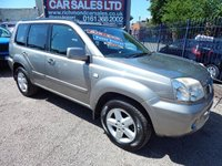 USED 2005 55 NISSAN X-TRAIL 2.2 SVE DCI 5d 135 BHP SERVICE HISTORY, GREAT ECONOMY, LEATHER, SAT NAV, ALLOYS,PANROOF