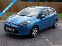 USED 2012 12 FORD FIESTA 1.2 EDGE 5d 81 BHP