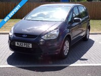USED 2012 12 FORD S-MAX 1.6 ZETEC TDCI S/S 5d 115 BHP FLEXIBLE 7 SEATER