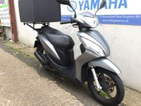 USED 2015 65 HONDA NSC 110 VISION GREY - PIZZA DELIVERY BOX!!!