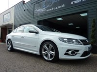 USED 2015 15 VOLKSWAGEN CC 2.0 R LINE TDI BLUEMOTION TECHNOLOGY 4d 175 BHP