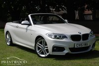 USED 2015 15 BMW 2 SERIES 220D M SPORT STEP AUTO [190 BHP] CONVERTIBLE