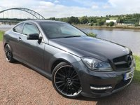 USED 2012 62 MERCEDES-BENZ C CLASS 2.1 C220 CDI BLUEEFFICIENCY AMG SPORT 2d AUTO 170 BHP ***GREAT VALUE***