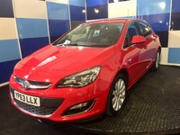 "USED 2013 63 VAUXHALL ASTRA 2.0 ELITE CDTI 5d AUTO 163 BHP A pristine example of this highlyt prized family diesel automatic hatchback finished in a lovely bright red contrasted with 17"" alloy wheels .This car comes with full leather interior with heated front seats,dual zone climate control,front and rear parking sensors,ultrasonic alarm plus all the usual elite refinements .  A very practicl family auitomatic which returns a very credidable combined mpg of 48.7 deffinitely one that needs to be driven and viewed to be fully appreciated."