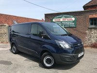 USED 2015 15 FORD TRANSIT CUSTOM 2.2 270 LR P/V 1d 100 BHP One Owner, Bluetooth Phone Connectivity, Finance Arranged In 60 Seconds.