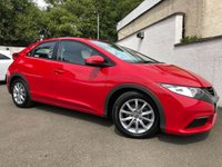 USED 2013 13 HONDA CIVIC 1.3 I-VTEC SE 5d 98 BHP