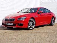 2015 BMW 6 SERIES 3.0 640I M SPORT GRAN COUPE 4d AUTO 316 BHP £25989.00
