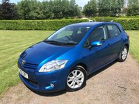 2012 TOYOTA AURIS 1.6 VALVEMATIC COLOUR COLLECTION 5d FSH Media Pack Rev Camera £5895.00