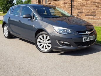 2014 VAUXHALL ASTRA 1.6 ELITE 5d 113 BHP +++ FUL HEATED LEATHER ++ PARKING AID +++ £6995.00