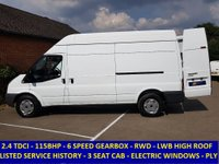 2011 FORD TRANSIT 115 350 LWB HIGH ROOF RWD WITH HISTORY £6995.00