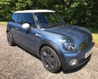 USED 2009 59 MINI HATCH COOPER 1.6 COOPER CAMDEN 3d R56 120 BHP 6 MONTHS PARTS+ LABOUR WARRANTY+AA COVER