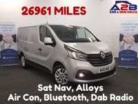 USED 2016 16 RENAULT TRAFIC 1.6 SL27 SPORT DCI 115 BHP Low Mileage 26,965,Air Con, Cruise Control, Reversing Camera **Drive Away Today** Over The Phone Low Rate Finance Available, Just Call us on 01709 866668
