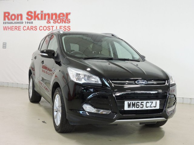 View our 2015 65 FORD KUGA 2.0 TITANIUM TDCI 5d 148 BHP with rear parking sensor