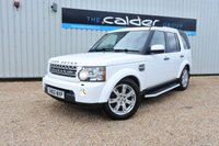 2010 LAND ROVER DISCOVERY 4 3.0 4 TDV6 XS 5d AUTO 245 BHP £18995.00