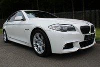 2011 BMW 5 SERIES 2.0 520D M SPORT 4d 181 BHP £10500.00