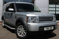 USED 2010 10 LAND ROVER DISCOVERY 2.7 4 TDV6 COMMERCIAL 1d 190 BHP 4X4 COMMERCIAL ADAPTION