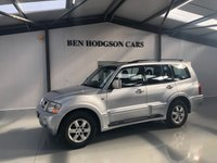 USED 2004 54 MITSUBISHI SHOGUN 3.2 ELEGANCE LWB DI-D 5d AUTO 159 BHP SATNAV, HEATED LEATHER