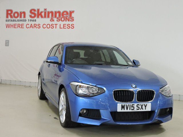 View our 2015 15 BMW 1 SERIES 1.6 116I M SPORT 5d 135 BHP