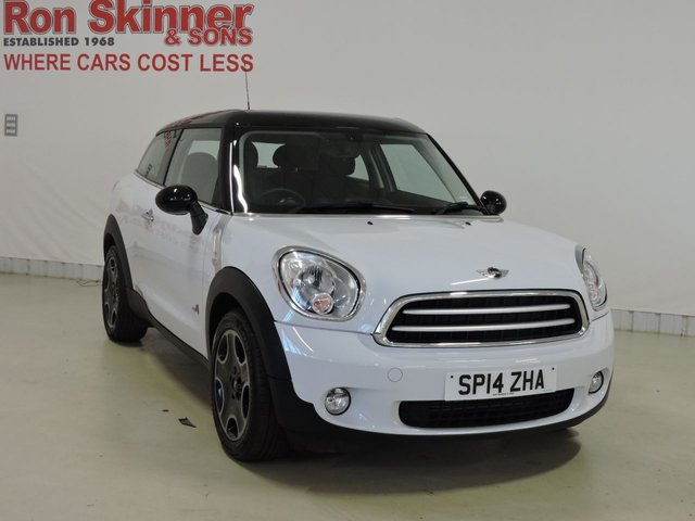 View our 2014 14 MINI PACEMAN 1.6 COOPER D ALL4 3d 112 BHP with Pepper Pack