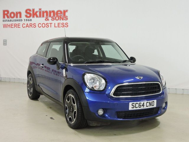 View our 2014 64 MINI PACEMAN 1.6 COOPER D 3d 111 BHP with Pepper Pack + Heated Seats