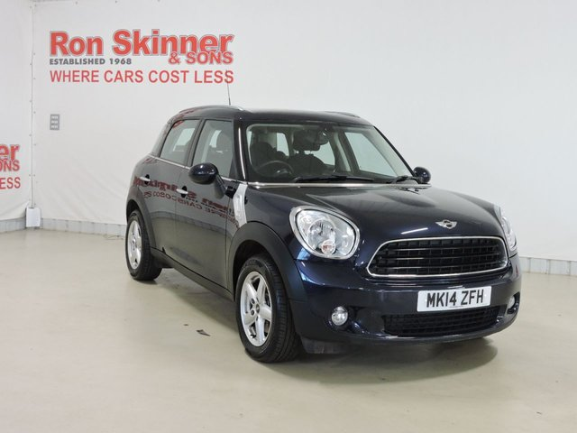 View our 2014 14 MINI COUNTRYMAN 1.6 ONE 5d 98 BHP with Pepper Pack