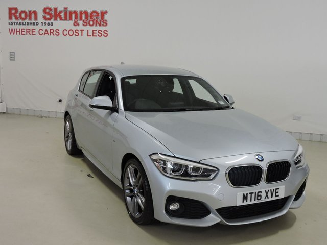 View our 2016 16 BMW 1 SERIES 1.5 116D M SPORT 5d 114 BHP