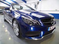 USED 2016 65 MERCEDES-BENZ E CLASS 2.1 E 220 D AMG LINE EDITION 2d AUTO 174 BHP 2016 12 MONTHS UK WARRANTY FULL HISTORY