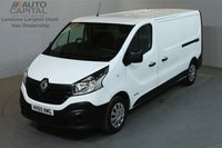 USED 2015 65 RENAULT TRAFIC 1.6 LL29 BUSINESS 115 BHP L2 H1 LWB LOW ROOF ONE OWNER, SERVICE HISTORY