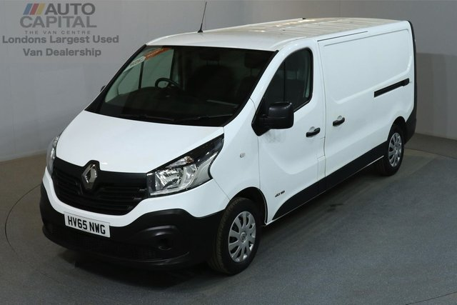 2015 65 RENAULT TRAFIC 1.6 LL29 BUSINESS 115 BHP L2 H1 LWB LOW ROOF ONE OWNER, SERVICE HISTORY