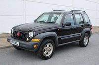 USED 2006 55 JEEP CHEROKEE 2.8 SPORT CRD 5d 161 BHP