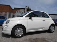 USED 2016 16 FIAT 500 1.2 POP 3d 69 BHP 14,000 MILES ONE OWNER £30 ROAD TAX