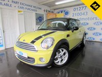 2011 MINI HATCH COOPER 1.6 COOPER 3d 122 BHP £4995.00