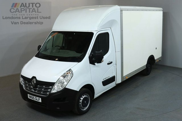 2015 65 RENAULT MASTER 2.3 LL35 BUSINESS 125 BHP L3 LWB LUTON VAN ONE OWNER FROM NEW, SERVICE HISTORY