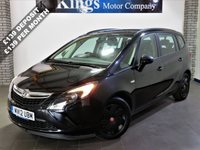 USED 2012 12 VAUXHALL ZAFIRA TOURER 1.8 ES 5dr MPV New Shape, 7 Seats, Low Miles , Front and Rear Parking Sensors