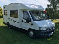 2006 CI MOTORHOME OTHER ITALY 2.3 OTHERS 1d  £24990.00