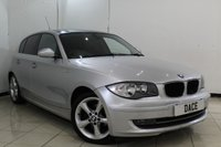 USED 2009 59 BMW 1 SERIES 2.0 116D SPORT 5DR 114 BHP AIR CONDITIONING + PARKING SENSOR + MULTI FUNCTION WHEEL + RADIO/CD + 17 INCH ALLOY WHEELS
