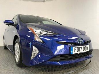 2017 TOYOTA PRIUS 1.8 VVT-I BUSINESS EDITION 5d AUTO 97 BHP £20995.00