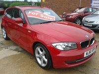 2011 BMW 1 SERIES 2.0 116I SPORT 3d 121 BHP £5975.00