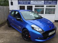 USED 2012 12 RENAULT CLIO 2.0 RENAULTSPORT 43K FSH 2 OWNERS LEATHER NAV CRUISE BLUETOOTH EXCELLENT CONDITION