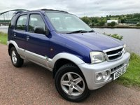 2002 DAIHATSU TERIOS 1.3 EL 5d AUTO 85 BHP £SOLD