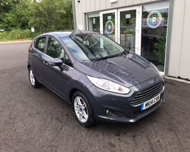 2014 14 FORD FIESTA 1.0 ZETEC ECOBOOST AUTOMATIC (100ps)