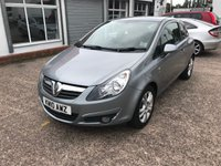 USED 2010 10 VAUXHALL CORSA 1.2 SXI A/C 3d 83 BHP JUST ARRIVED 5 SERVICE STAMPS-61000 MILES-1.2 PETROL ENGINE-AIR CON-ALLOYS