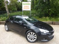 USED 2014 14 VAUXHALL ASTRA GTC 2.0 GTC SRI CDTI S/S 3dr Half Leather, Cruise, B/tooth